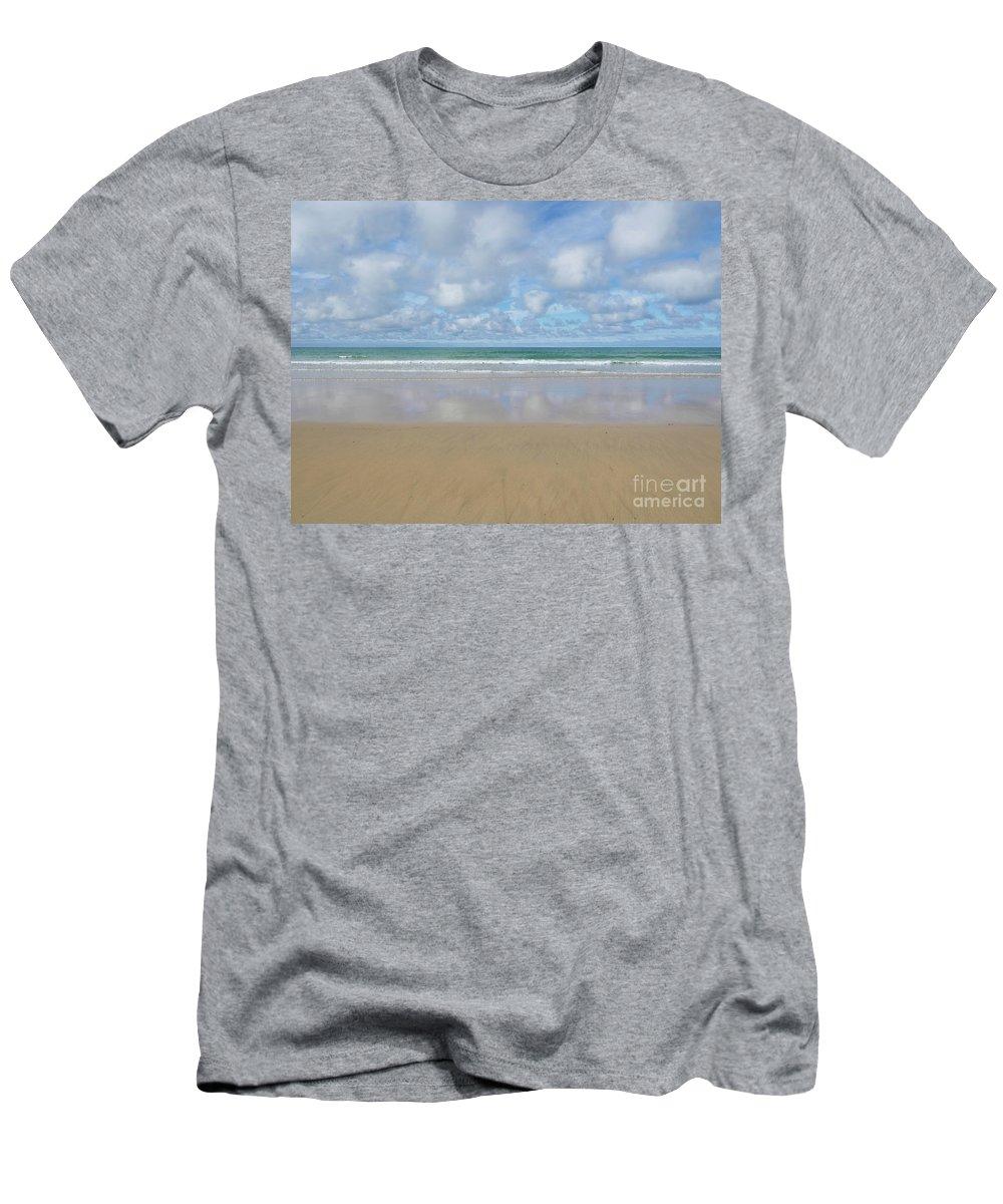 Beach Men's T-Shirt (Athletic Fit) featuring the photograph Beach by Nicholas Burningham