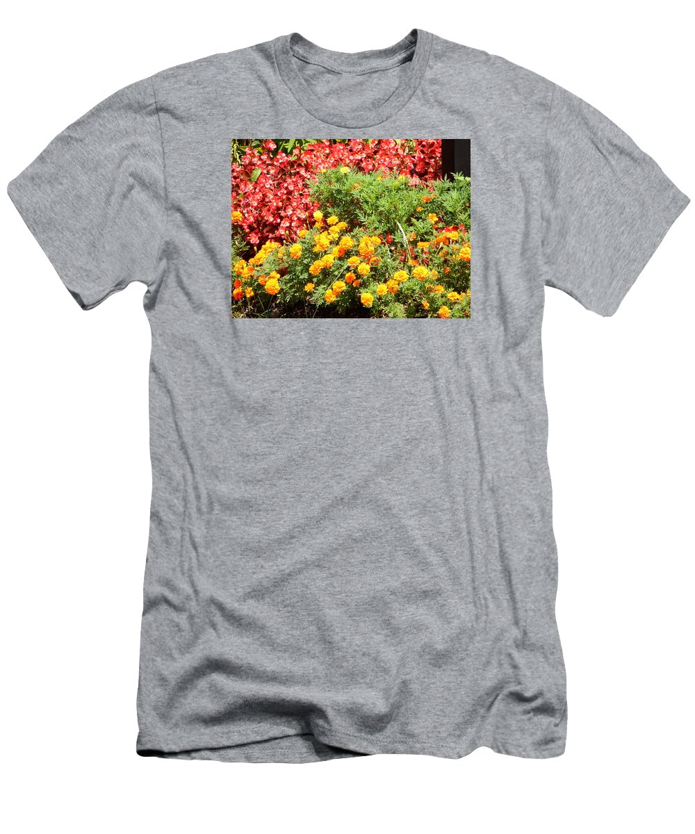 Men's T-Shirt (Athletic Fit) featuring the photograph Begon-i-golds by Mark Dibble