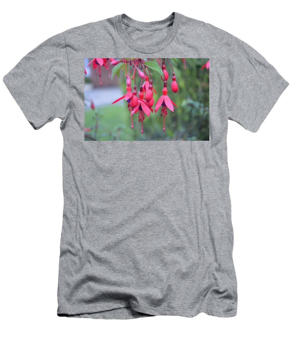 Red Men's T-Shirt (Athletic Fit) featuring the photograph Bell by Remi G