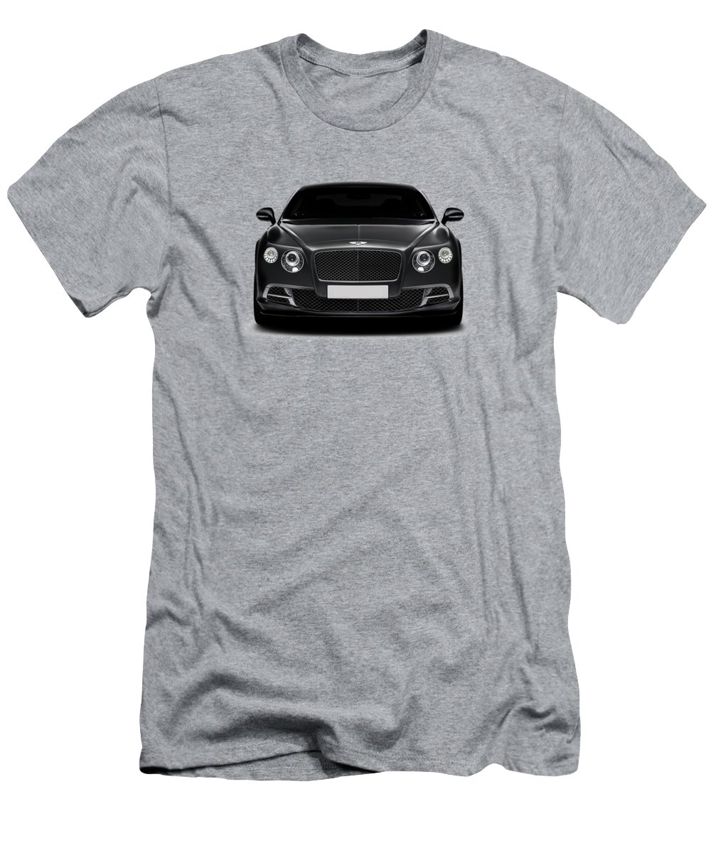 Bentley Continental Gt T-Shirt For Sale By Mark Rogan