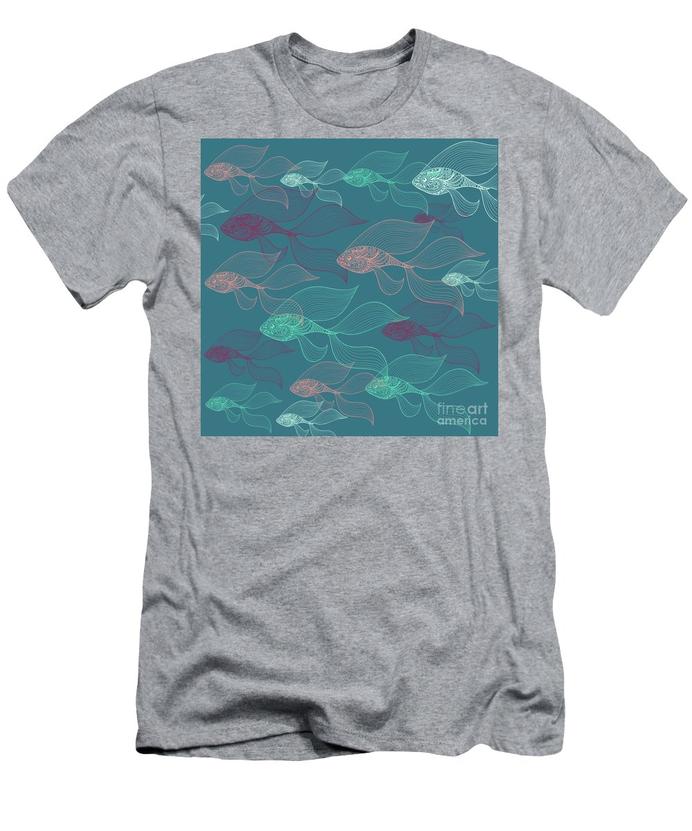 Dolphins T-Shirt featuring the photograph Beta Fish by Mark Ashkenazi