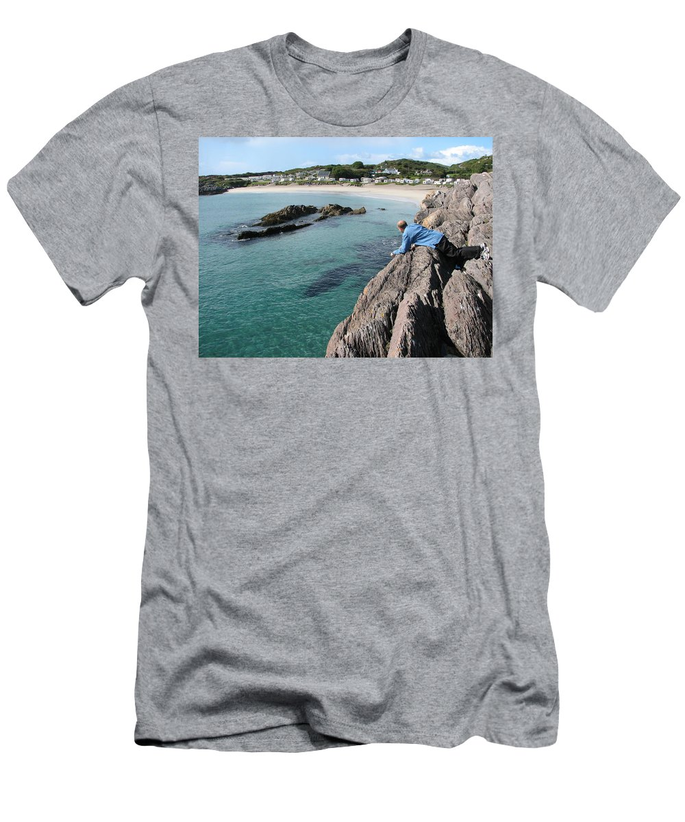 O'carrol's Cove T-Shirt featuring the photograph Birdseye View by Kelly Mezzapelle