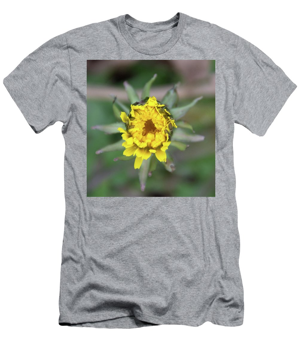 Flower Men's T-Shirt (Athletic Fit) featuring the photograph Birth Of A Dandelion by Dawn Dasharion