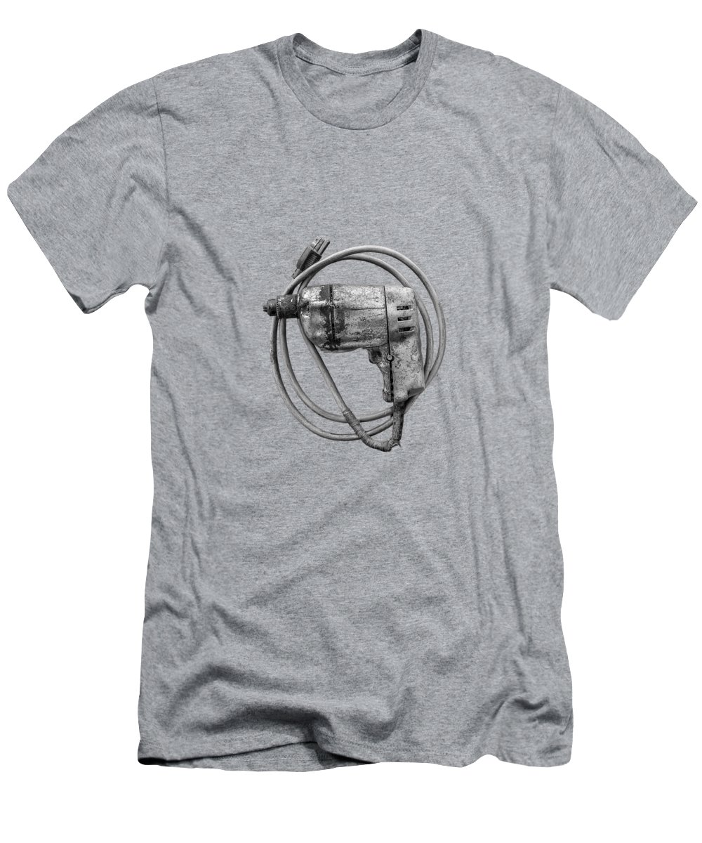 Antique Men's T-Shirt (Athletic Fit) featuring the photograph Black And Decker Drill by YoPedro
