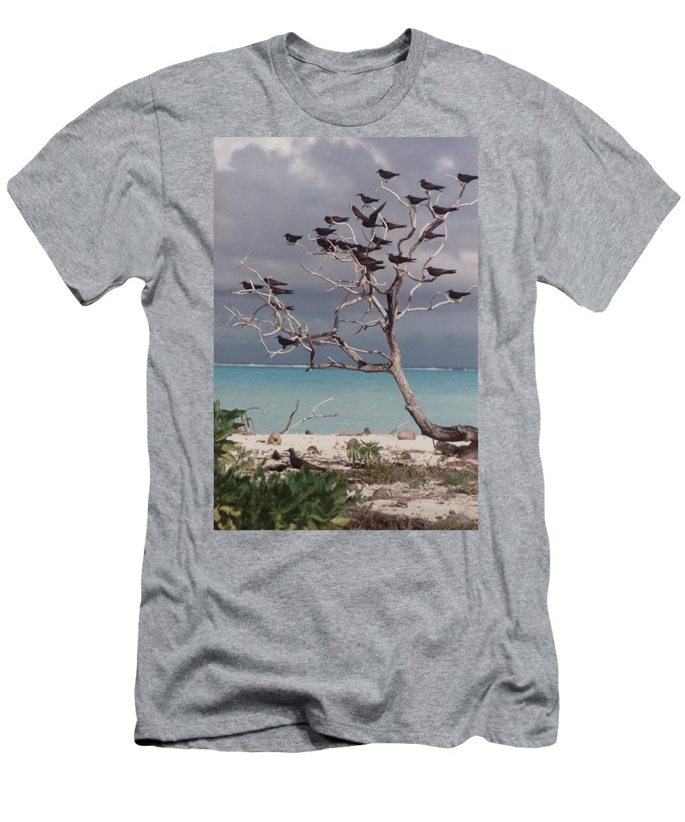 Charity Men's T-Shirt (Athletic Fit) featuring the photograph Black Birds by Mary-Lee Sanders
