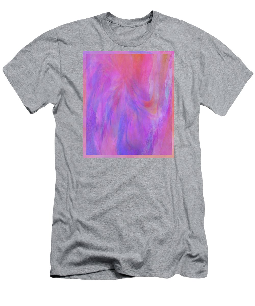 Digital Art Men's T-Shirt (Athletic Fit) featuring the digital art Blossom by Linda Murphy