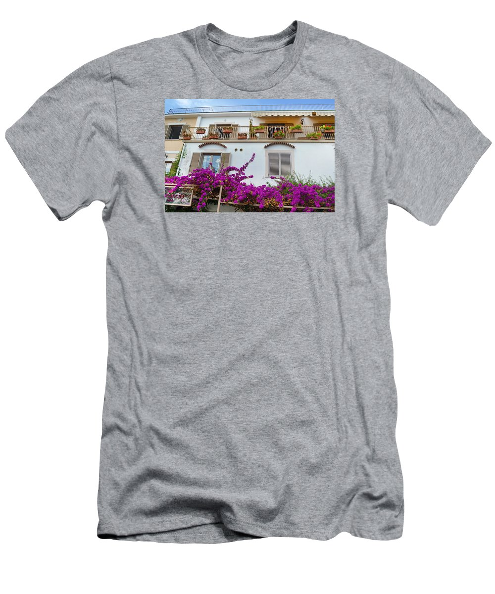 Boccaccio Men's T-Shirt (Athletic Fit) featuring the photograph Boccaccio B And B by Jeffrey Hamilton