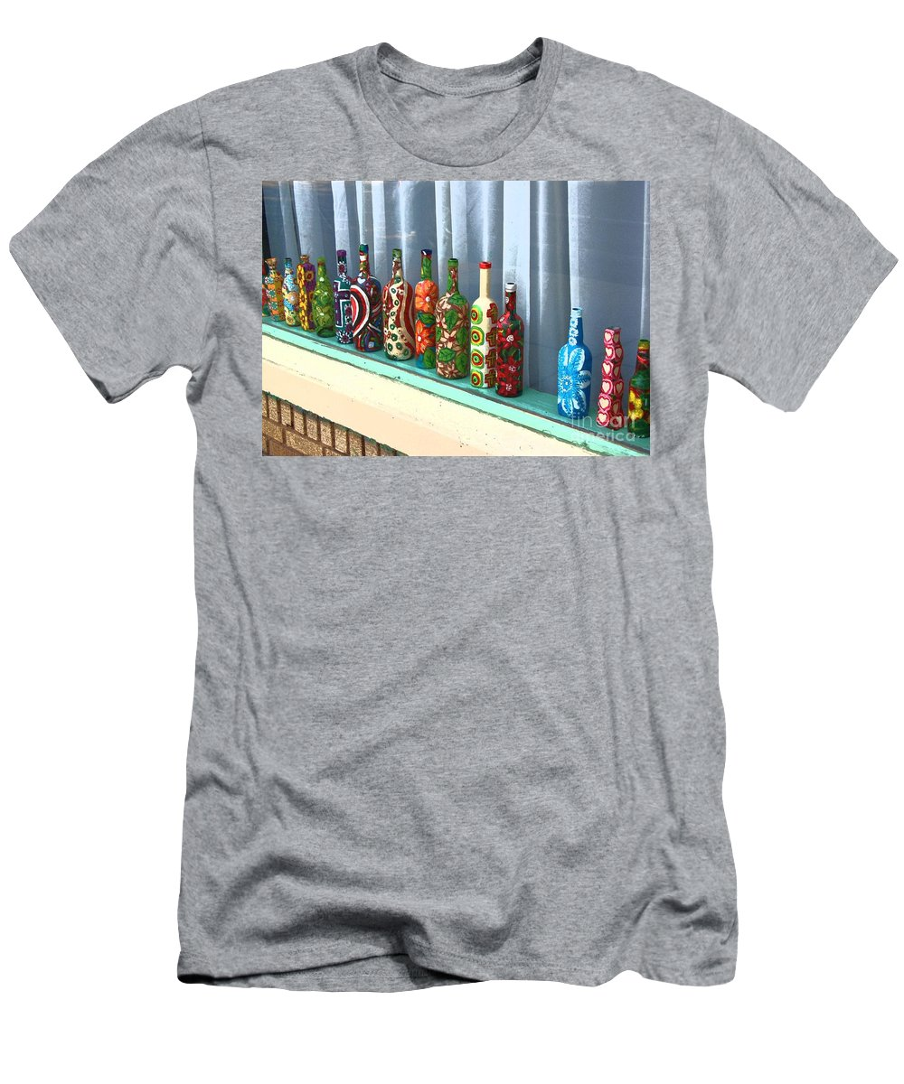 Bottles T-Shirt featuring the photograph Bottled Up by Debbi Granruth