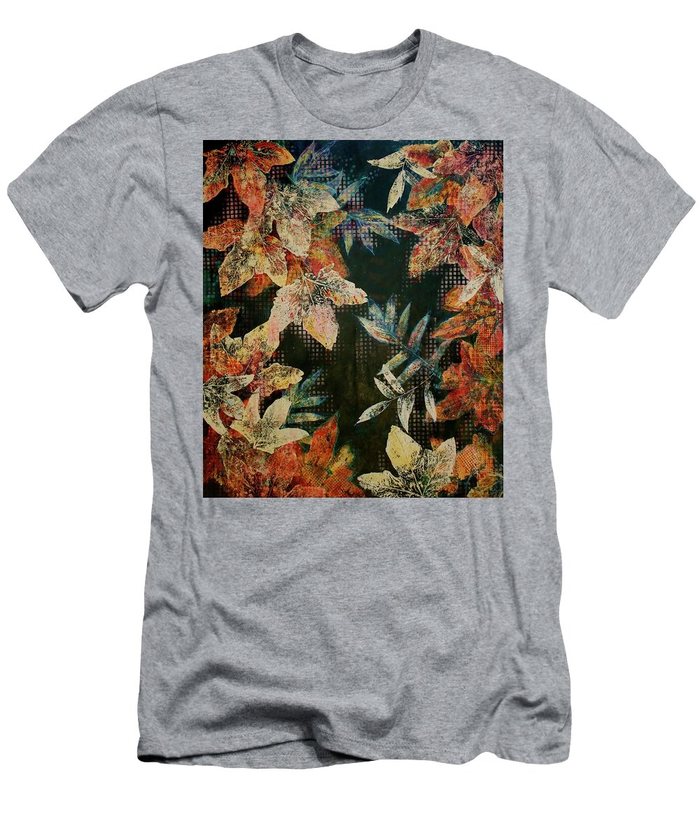 Abstract Men's T-Shirt (Athletic Fit) featuring the painting Bp 7 by Betty OHare