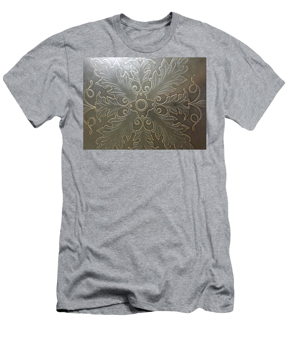 Design Men's T-Shirt (Athletic Fit) featuring the photograph Brass Masterpiece by Alex Creighton