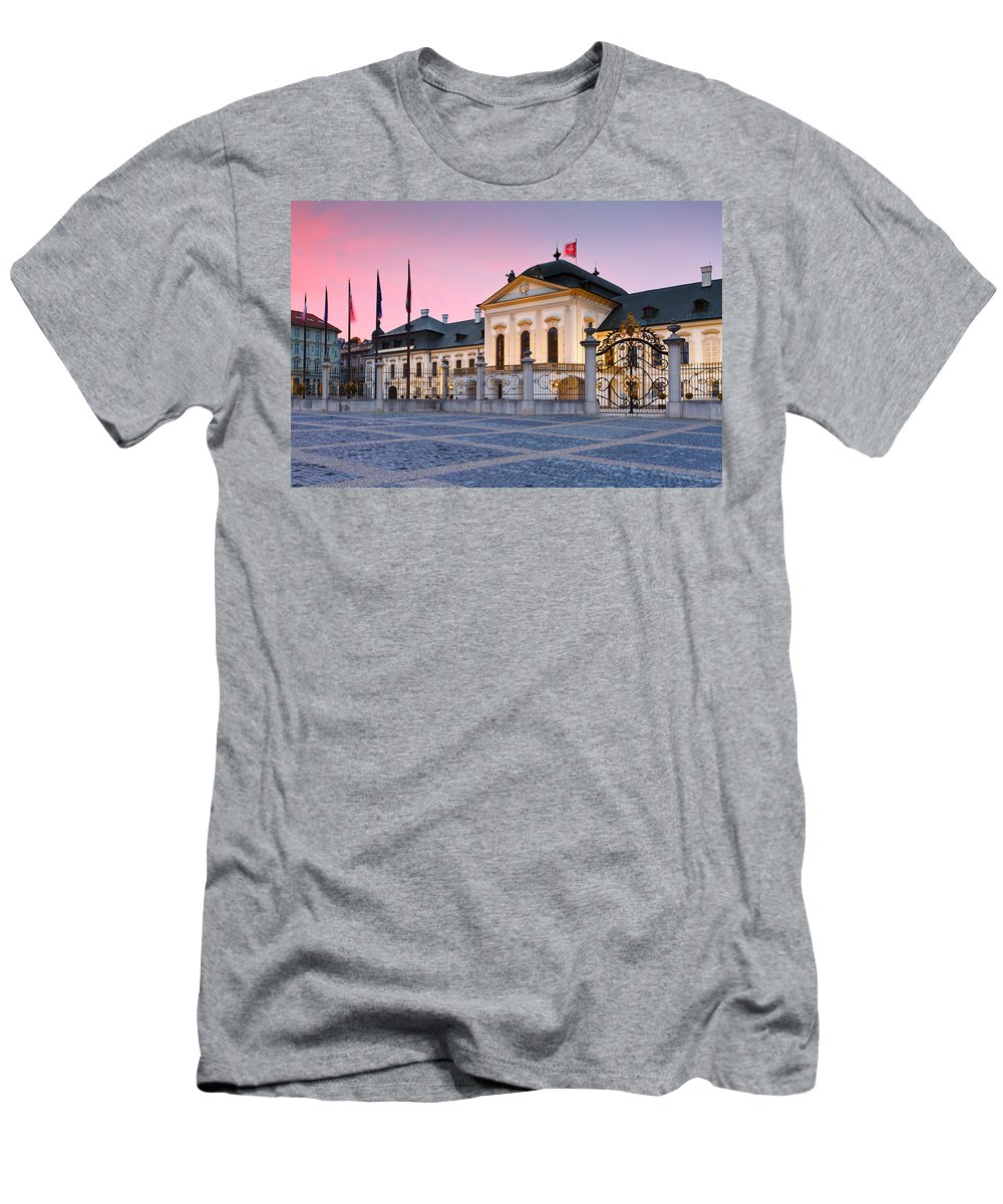 Presidential Men's T-Shirt (Athletic Fit) featuring the photograph bratislava 'XLIV by Milan Gonda