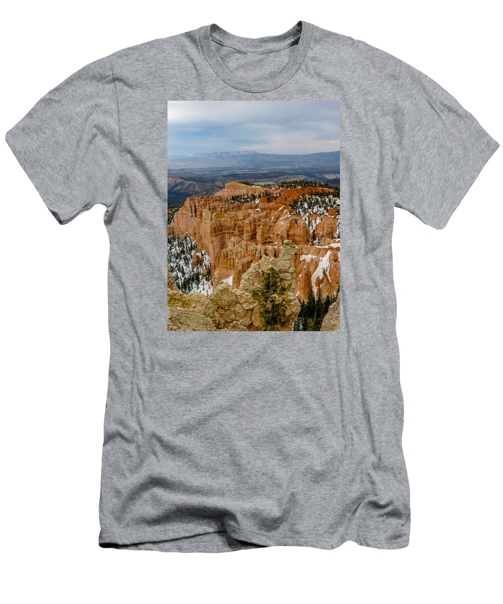 Bryce Canyon National Park Men's T-Shirt (Athletic Fit) featuring the photograph Bryce Canyon Series #7 by Patti Deters