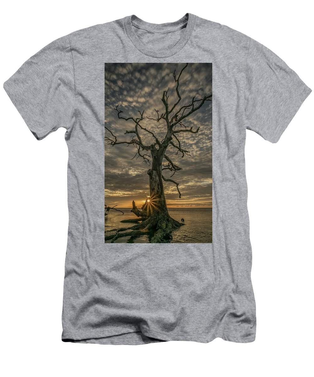 Men's T-Shirt (Athletic Fit) featuring the photograph Bursting Forth by Nate Rosso