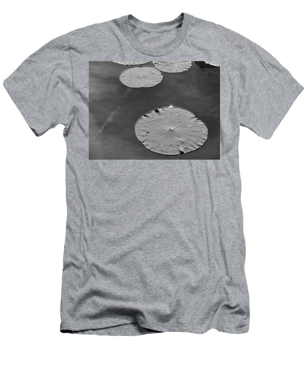 Black Men's T-Shirt (Athletic Fit) featuring the photograph Bw 47 by Ron Emery