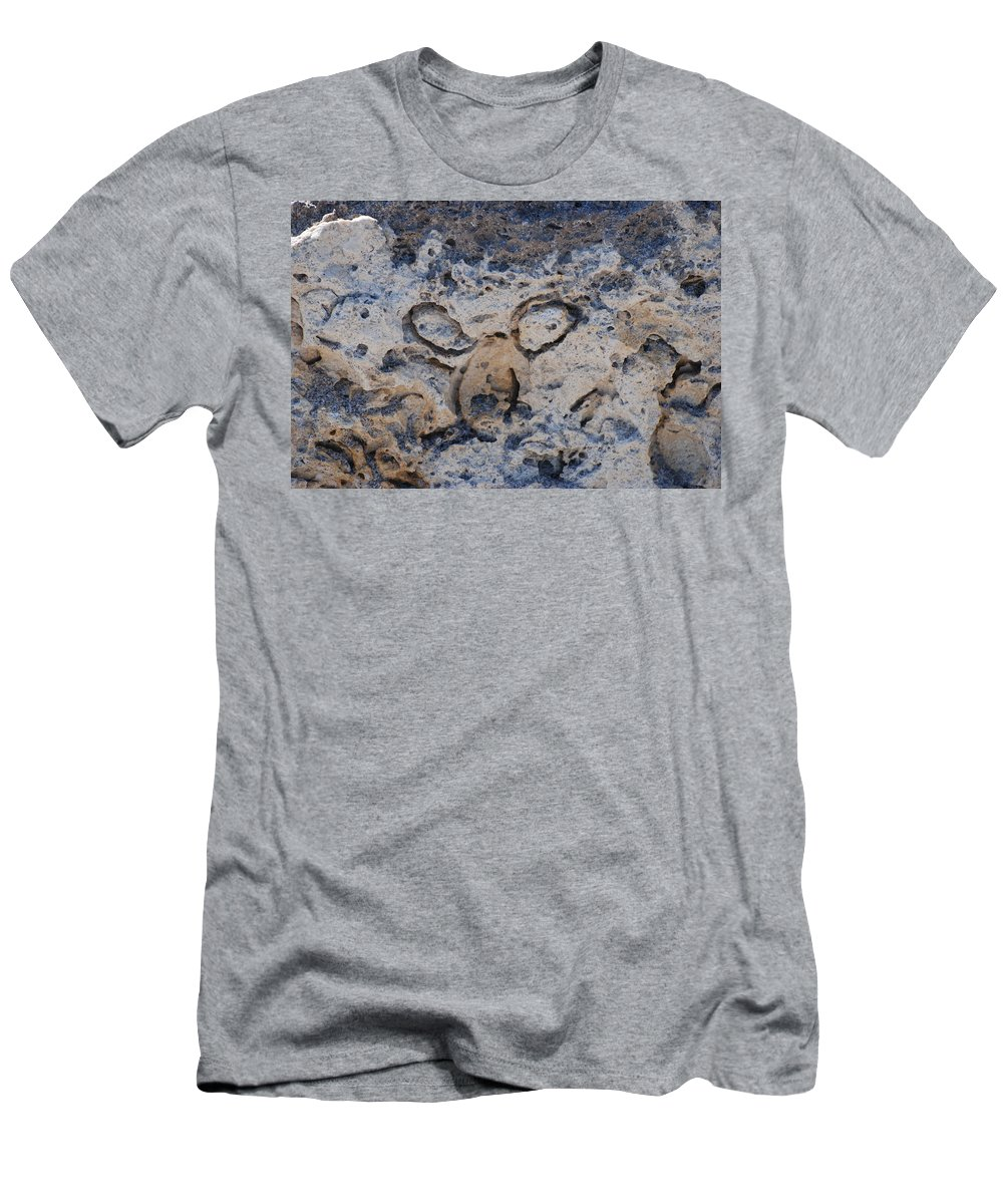 Ocean Men's T-Shirt (Athletic Fit) featuring the photograph Carved Catface by Rob Hans