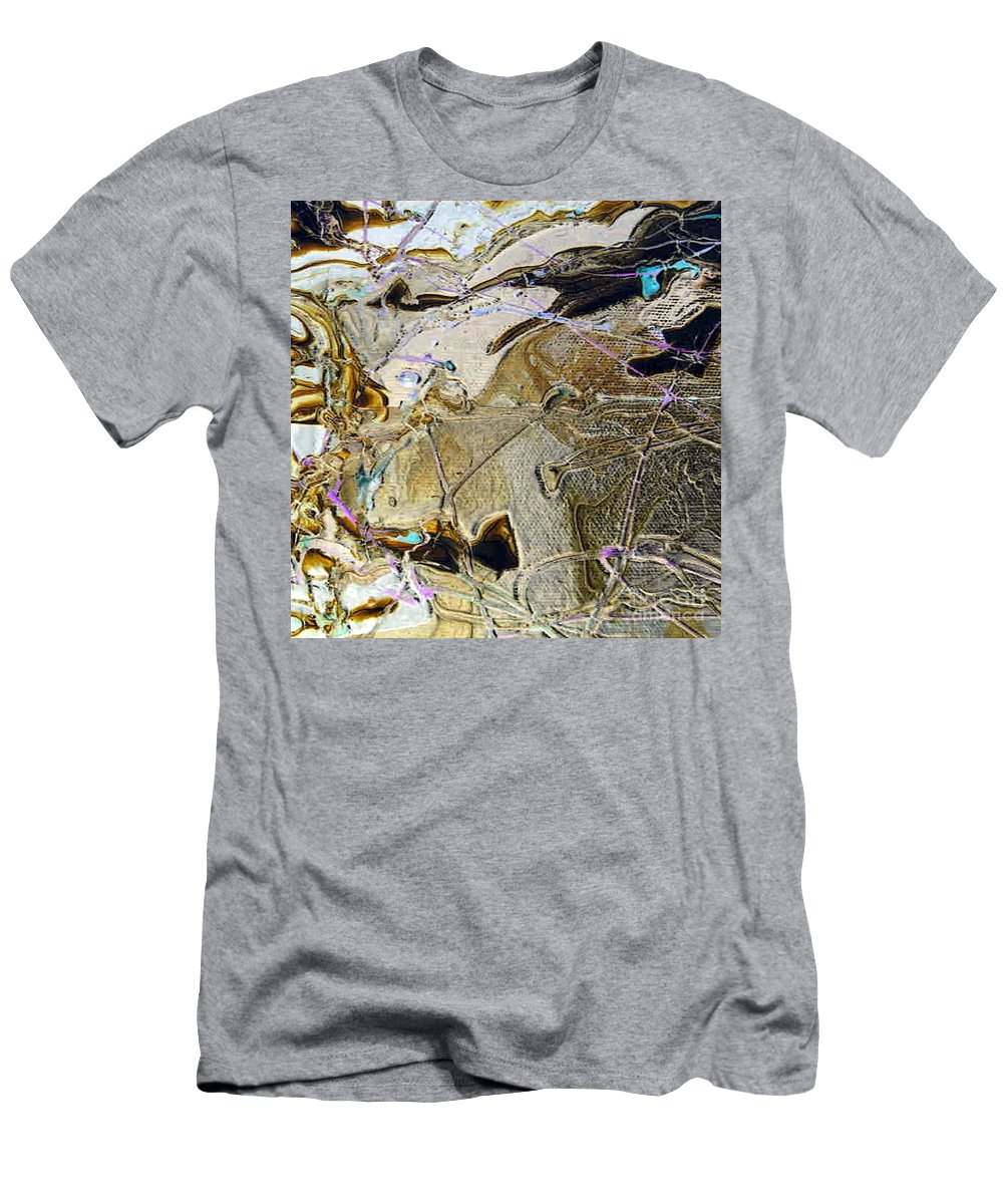 Changes Men's T-Shirt (Athletic Fit) featuring the painting Changes In Me by Dawn Hough Sebaugh