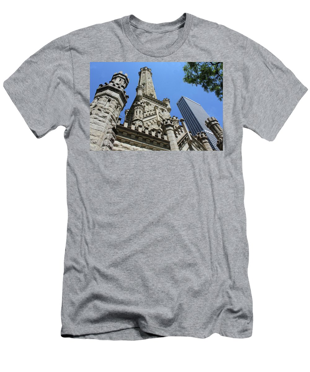 Chicago Men's T-Shirt (Athletic Fit) featuring the photograph Checkmate by Tyquill Williams