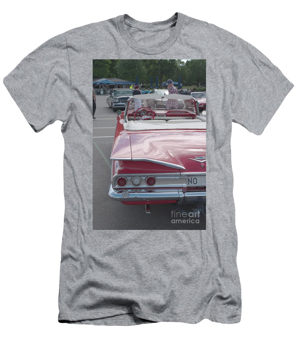 Chevrolet Impala Men's T-Shirt (Athletic Fit) featuring the photograph Chevrolet Impala by Esko Lindell