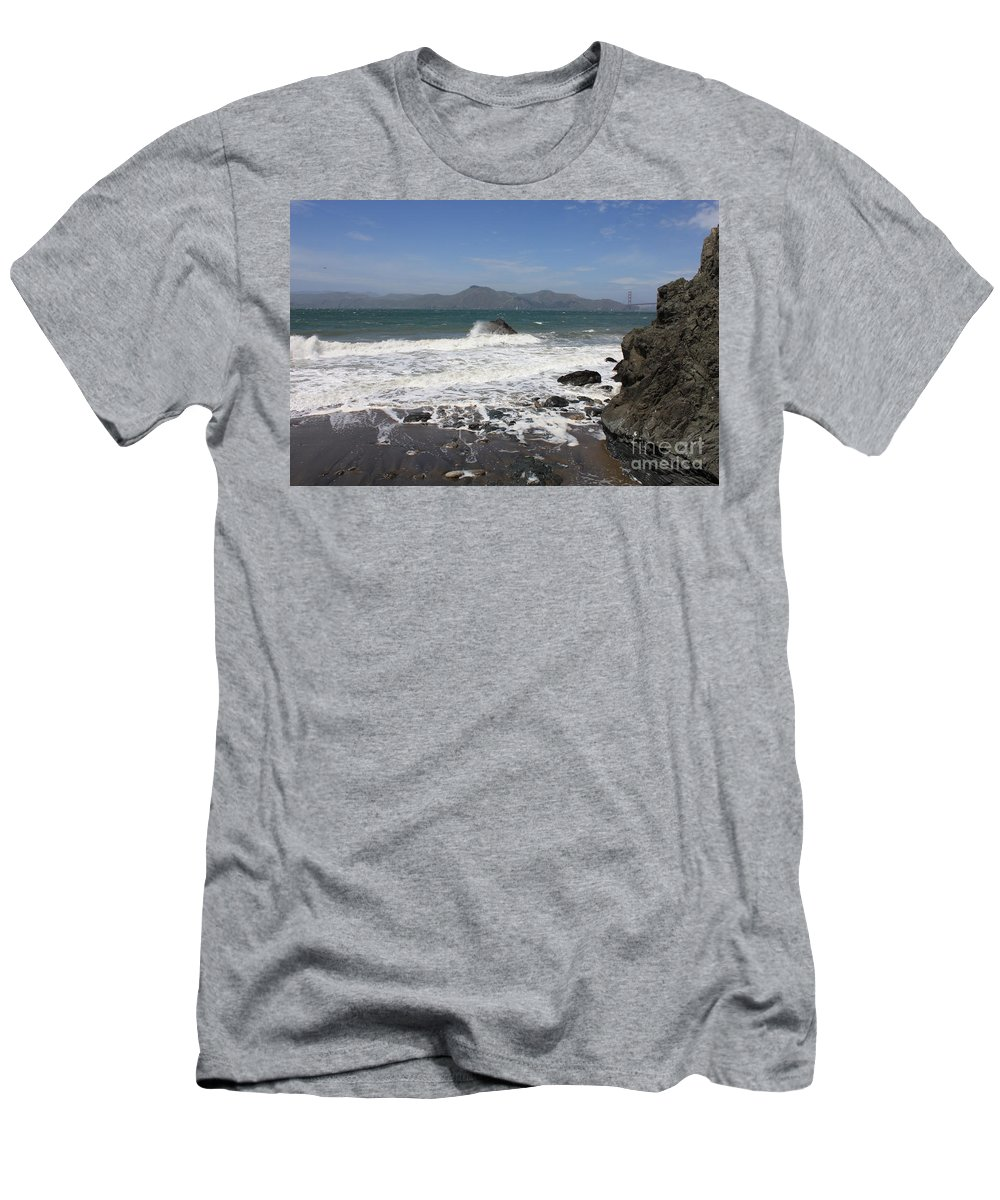 Men's T-Shirt (Athletic Fit) featuring the photograph China Beach by Carol Groenen