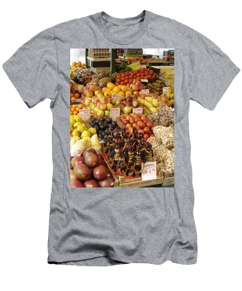 Food Men's T-Shirt (Athletic Fit) featuring the photograph Christmas Treasures by Mary Rogers