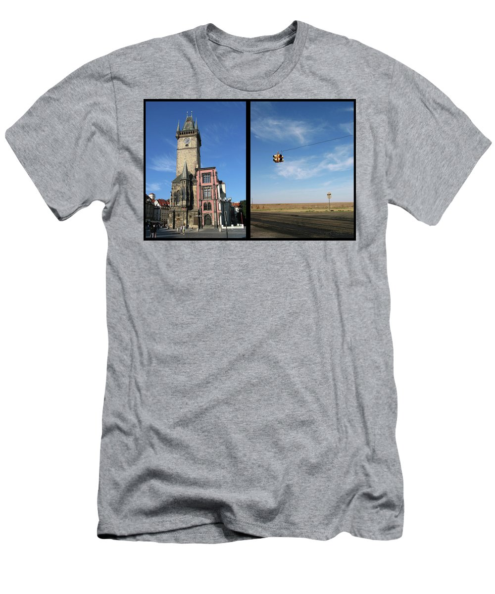 Church Men's T-Shirt (Athletic Fit) featuring the photograph Church by James W Johnson