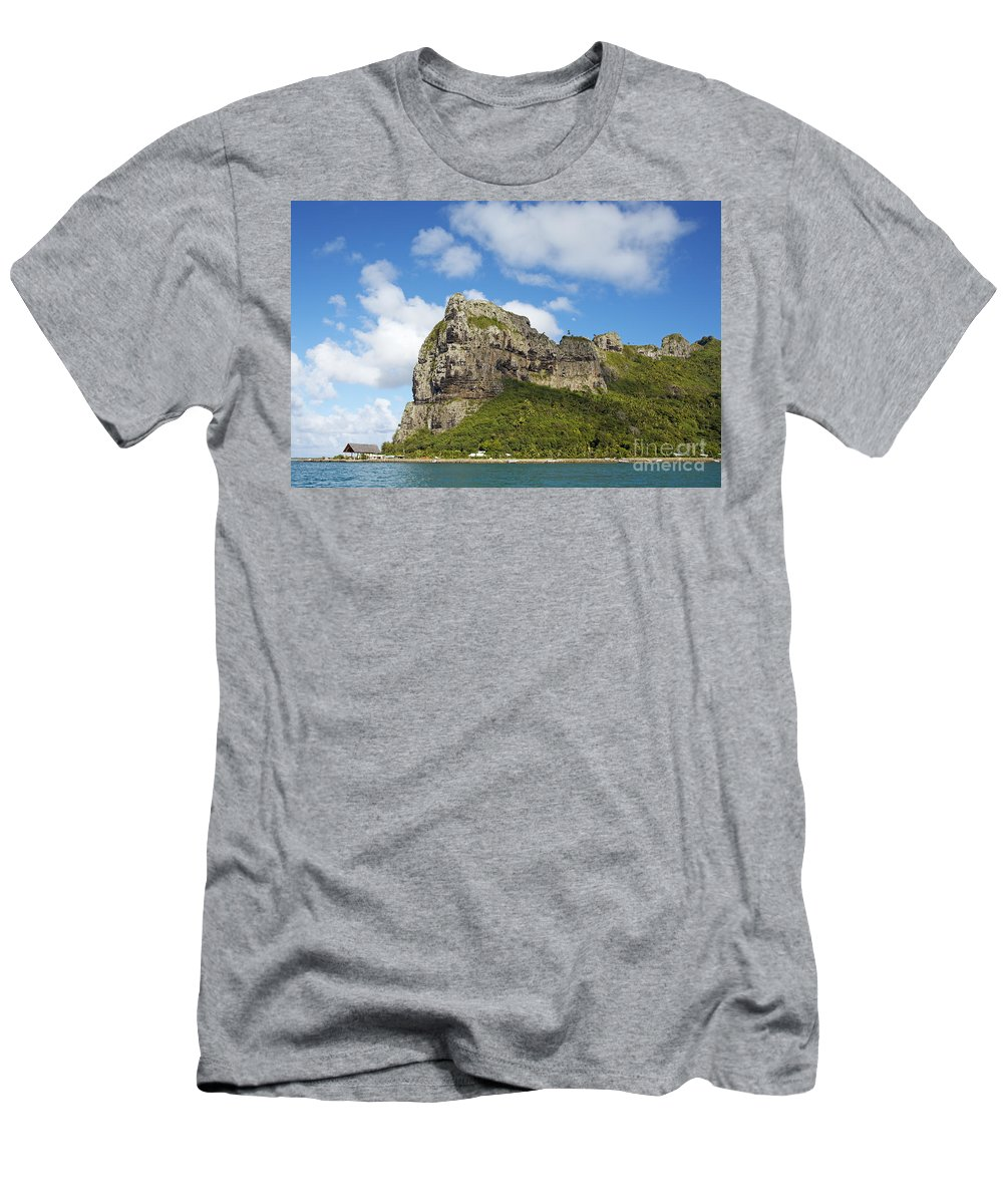 Beautiful Men's T-Shirt (Athletic Fit) featuring the photograph Coastal Peak by Kyle Rothenborg - Printscapes