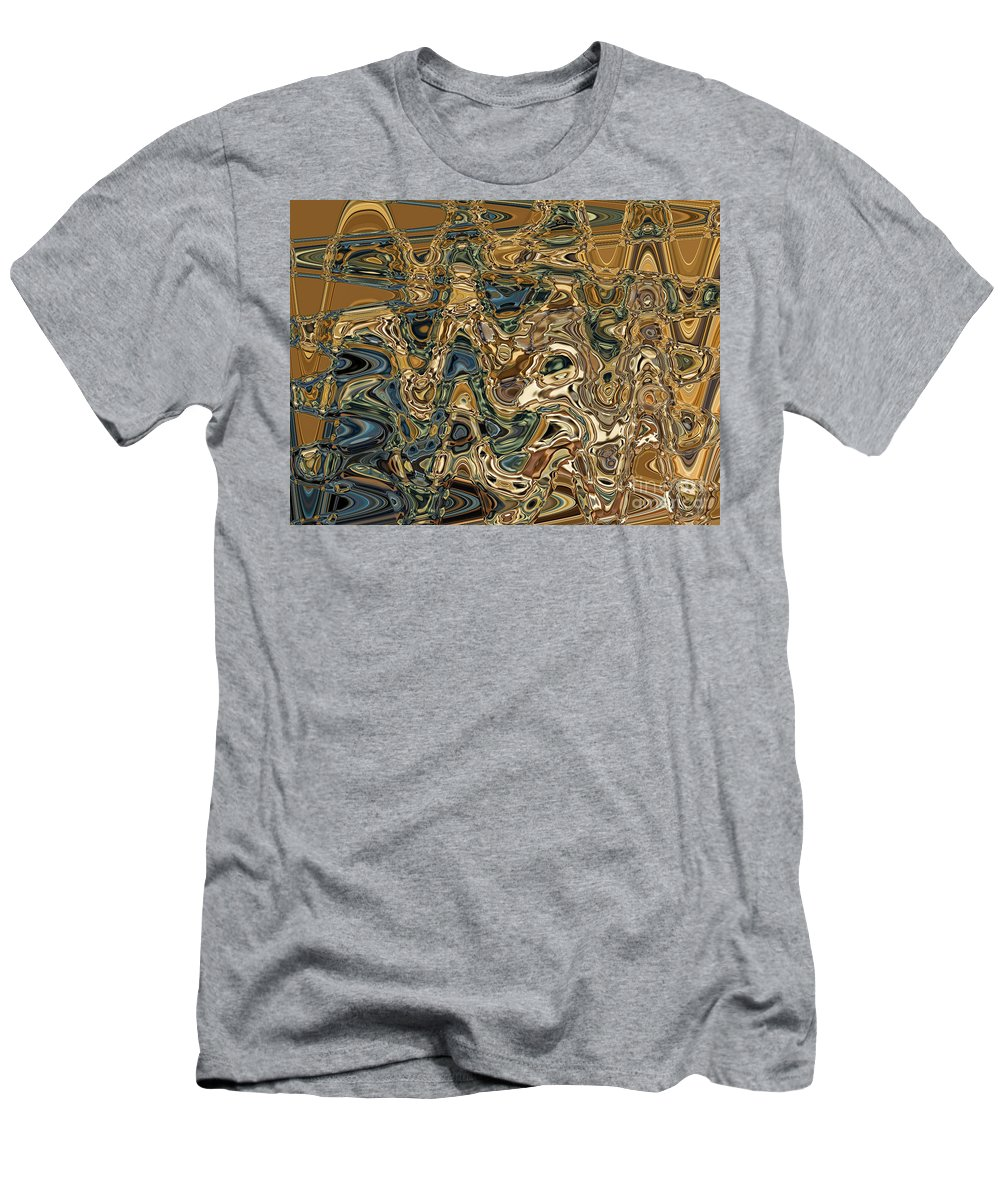Motion T-Shirt featuring the digital art Collision Xv by Jim Fitzpatrick