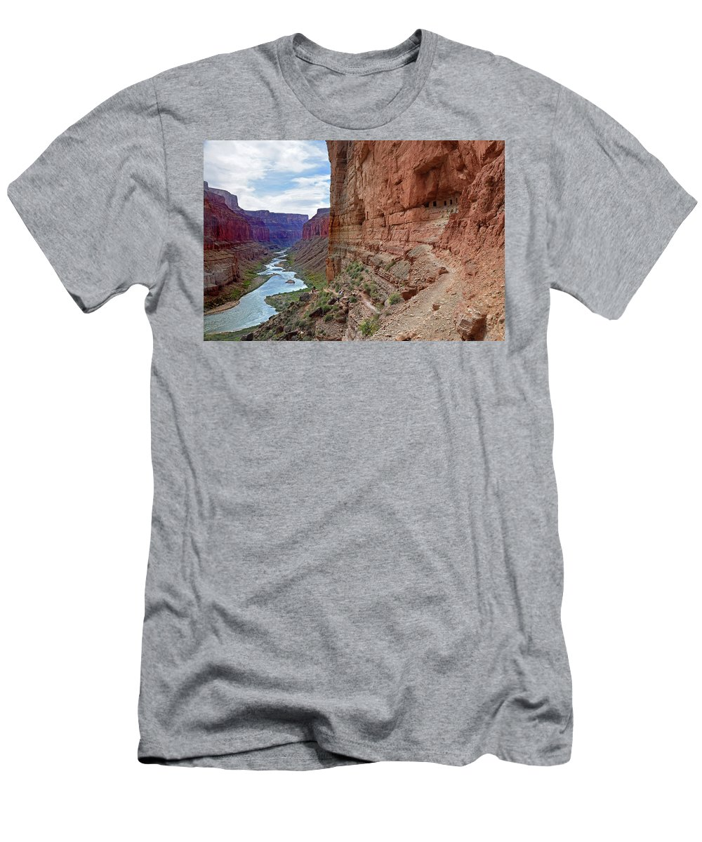 Colorado River Men's T-Shirt (Athletic Fit) featuring the photograph Colorado River by Martin Massari