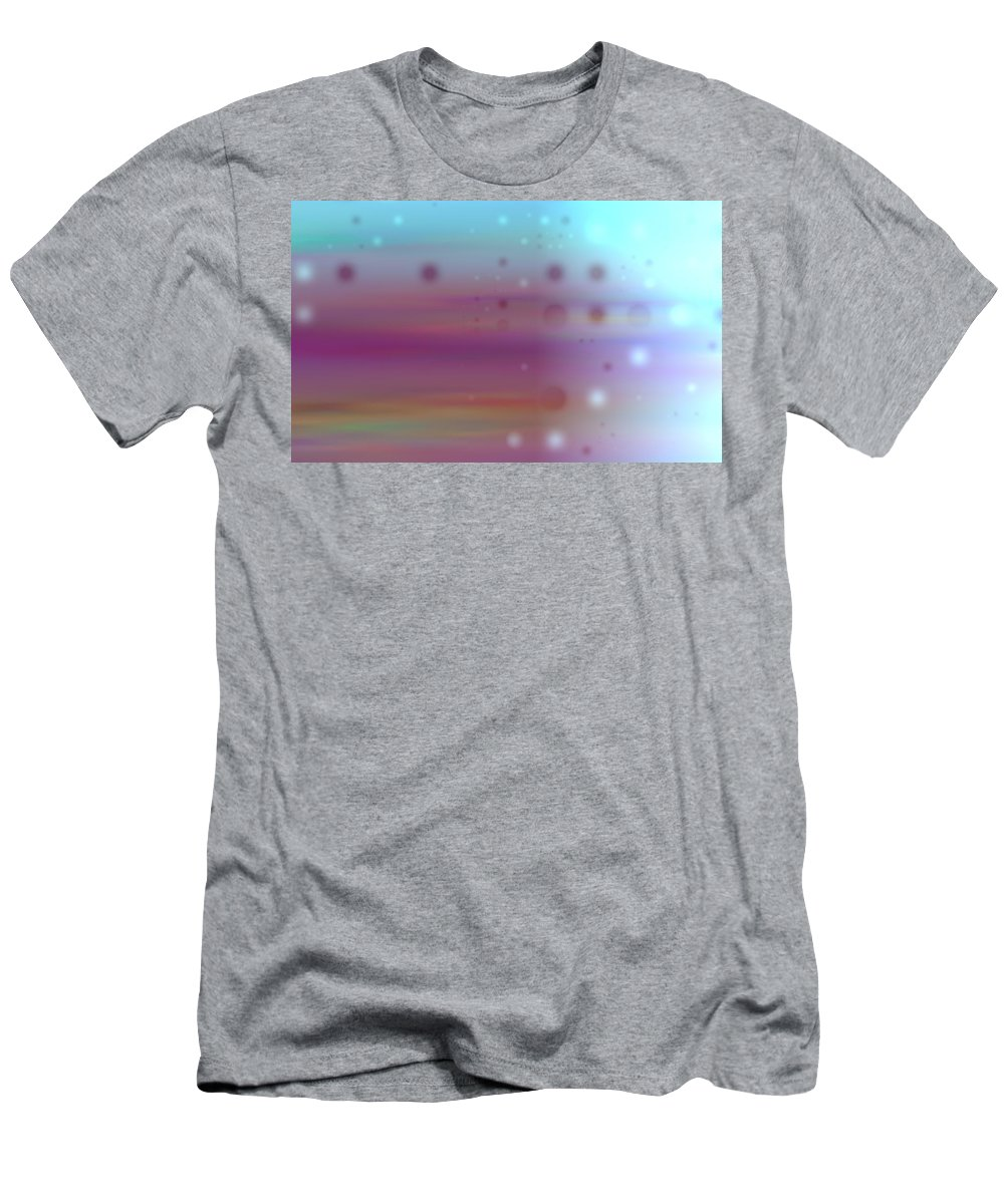 Art Digital Art Men's T-Shirt (Athletic Fit) featuring the digital art Colour19mlv - Impressions by Alex Porter