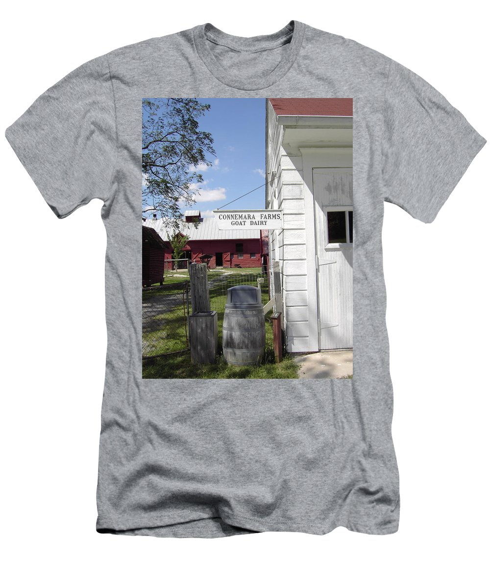 Connemara Flat Rock North Carolina Men's T-Shirt (Athletic Fit) featuring the photograph Connemara Flat Rock North Carolina by Flavia Westerwelle