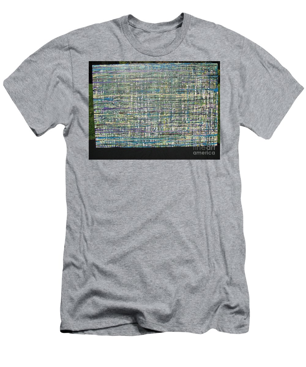 Men's T-Shirt (Athletic Fit) featuring the painting Convoluted by Jacqueline Athmann