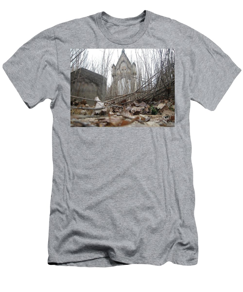 Old Men's T-Shirt (Athletic Fit) featuring the digital art Crypt Vestry by Matthew Pinner