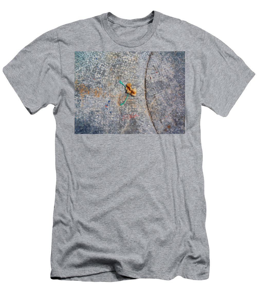 Fishing Net Men's T-Shirt (Athletic Fit) featuring the photograph Curve And Counter Curve by Charles Stuart