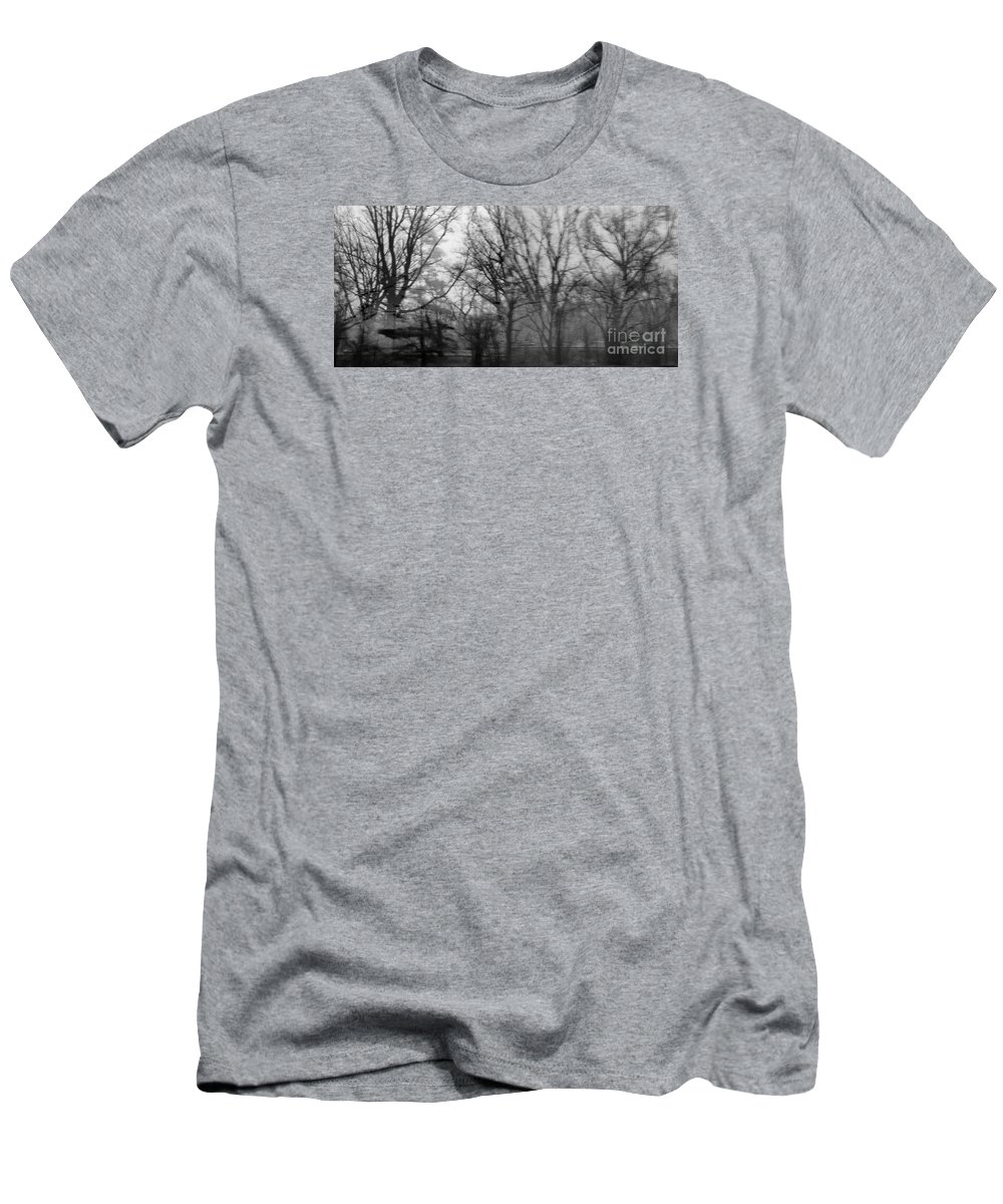 Woods Men's T-Shirt (Athletic Fit) featuring the photograph Day Dreaming by Angelo Merluccio