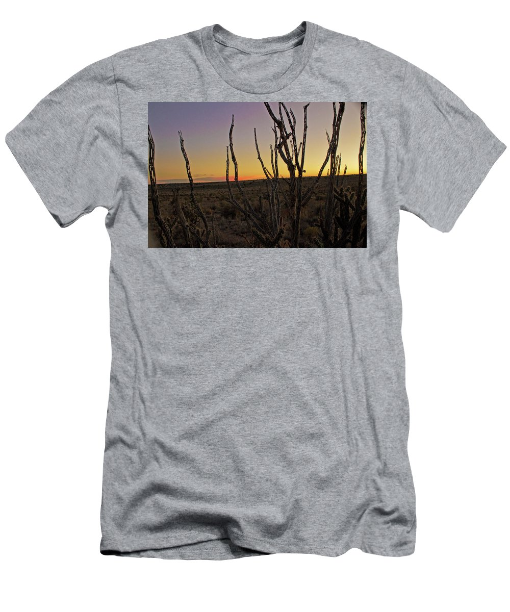 Men's T-Shirt (Athletic Fit) featuring the photograph Desert Sky by Keith Peacock