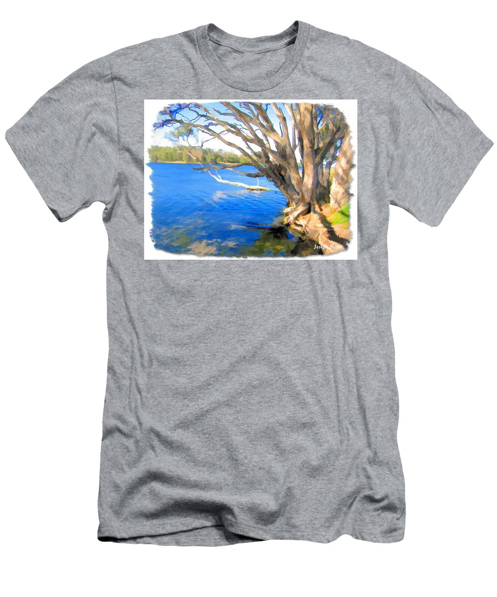 Avoca Men's T-Shirt (Athletic Fit) featuring the photograph Do-00105 Avoca by Digital Oil
