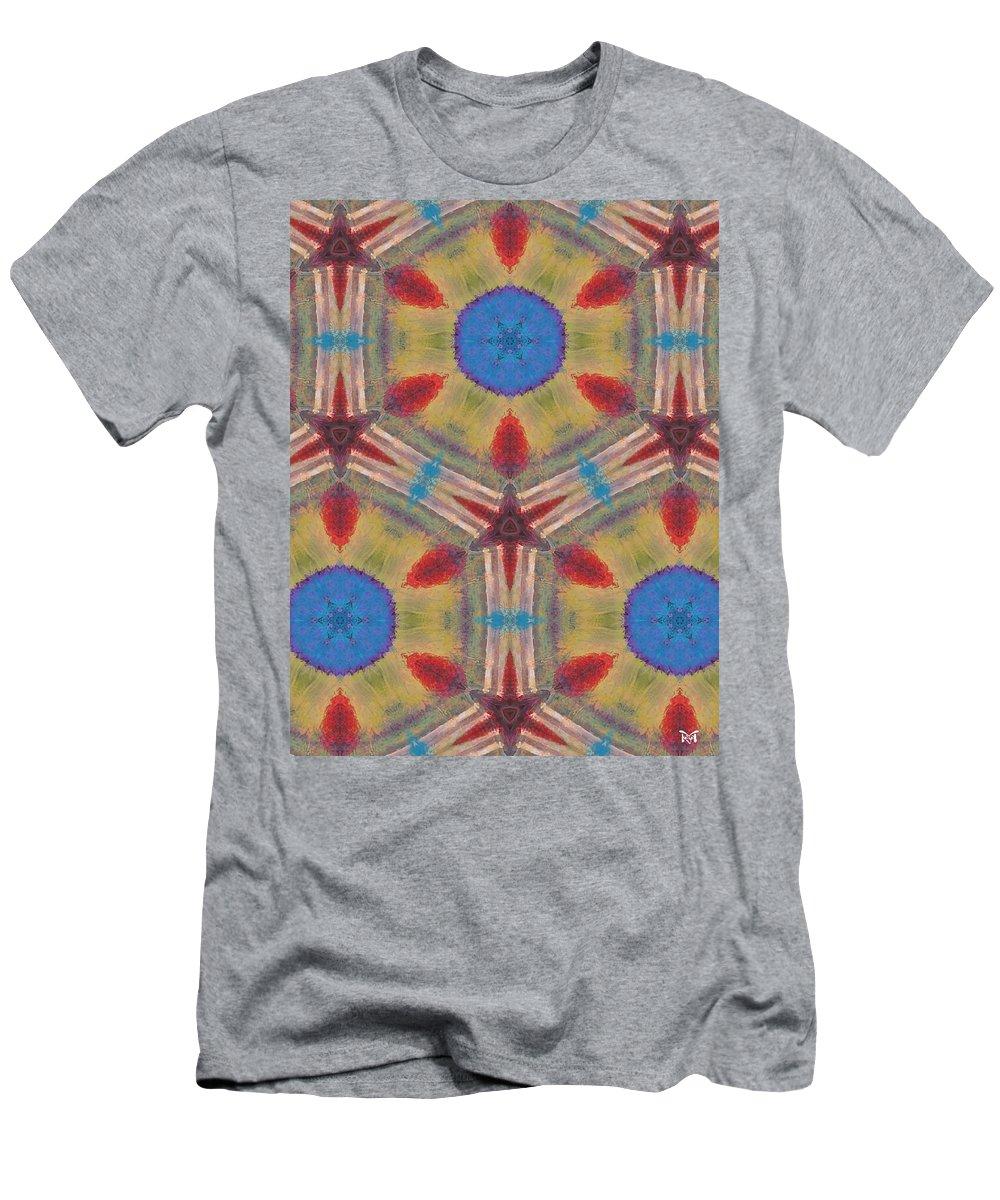 Acrylic Men's T-Shirt (Athletic Fit) featuring the digital art Dream Catcher IIi by Maria Watt