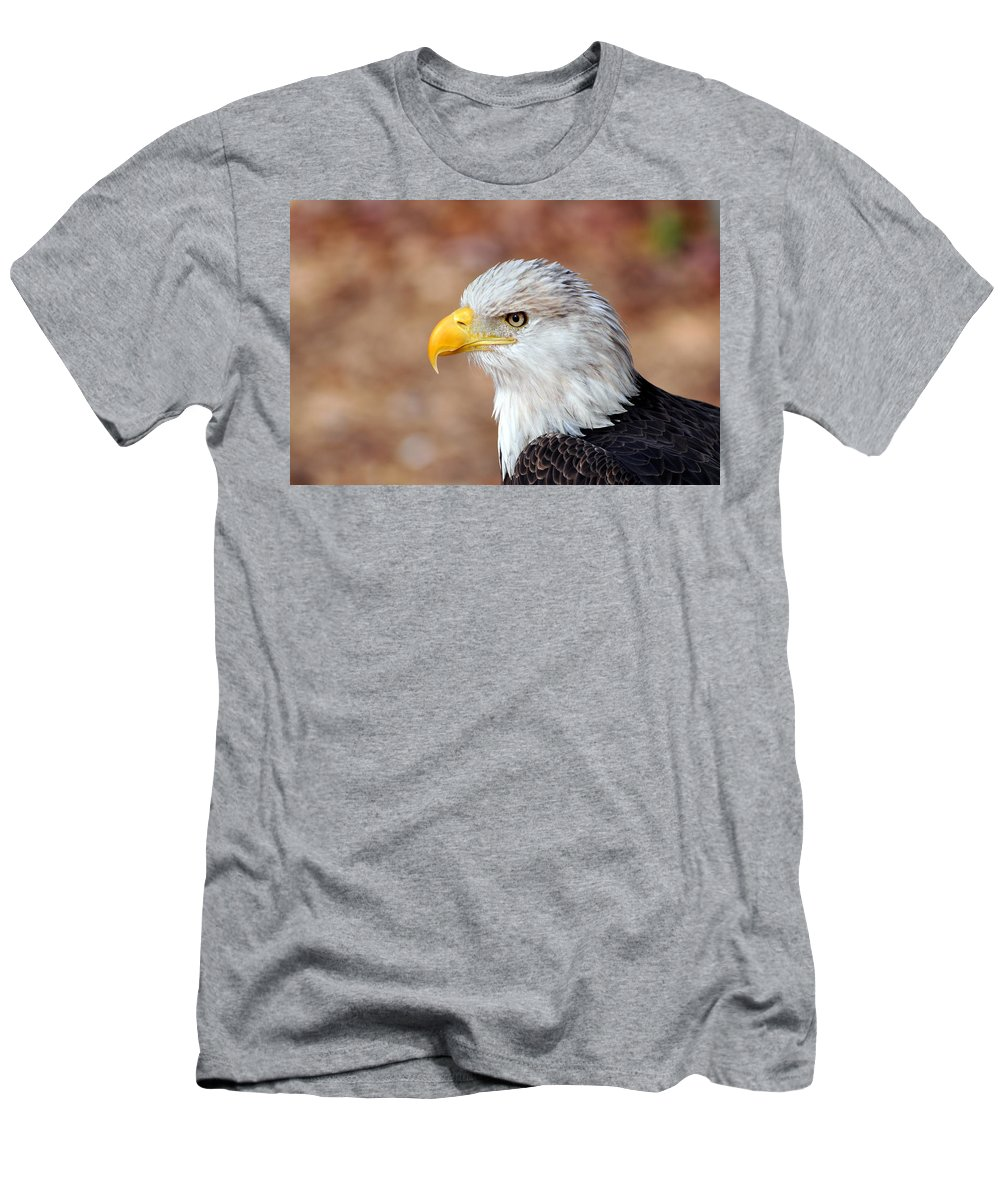 Eagle Men's T-Shirt (Athletic Fit) featuring the photograph Eagle 10 by Marty Koch