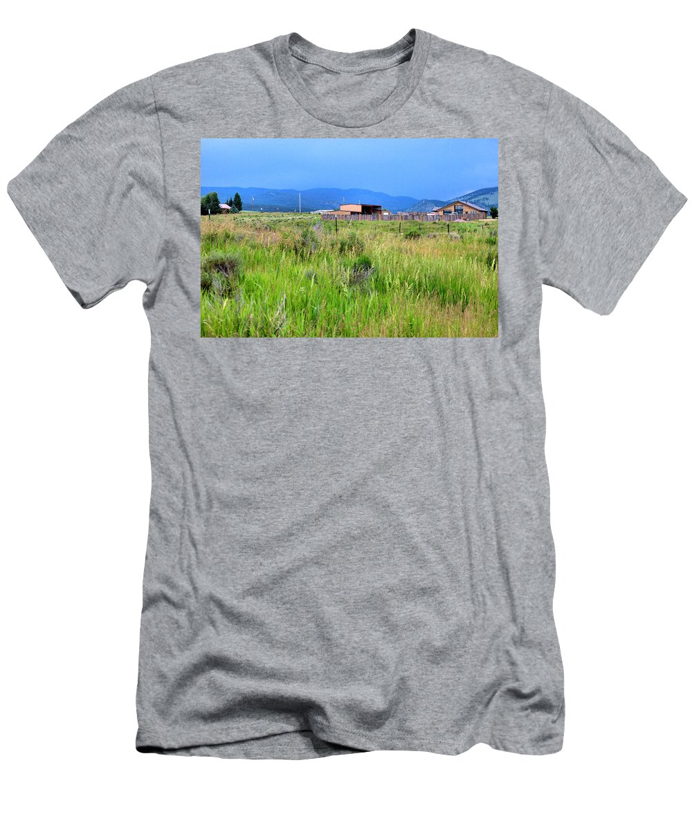 New Mexico Men's T-Shirt (Athletic Fit) featuring the photograph Eagle Nest New Mexico by Chris Giese