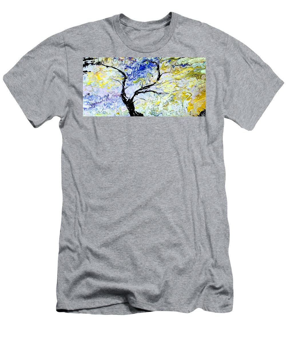 Colorful T-Shirt featuring the painting Emotion by Valerie Josi