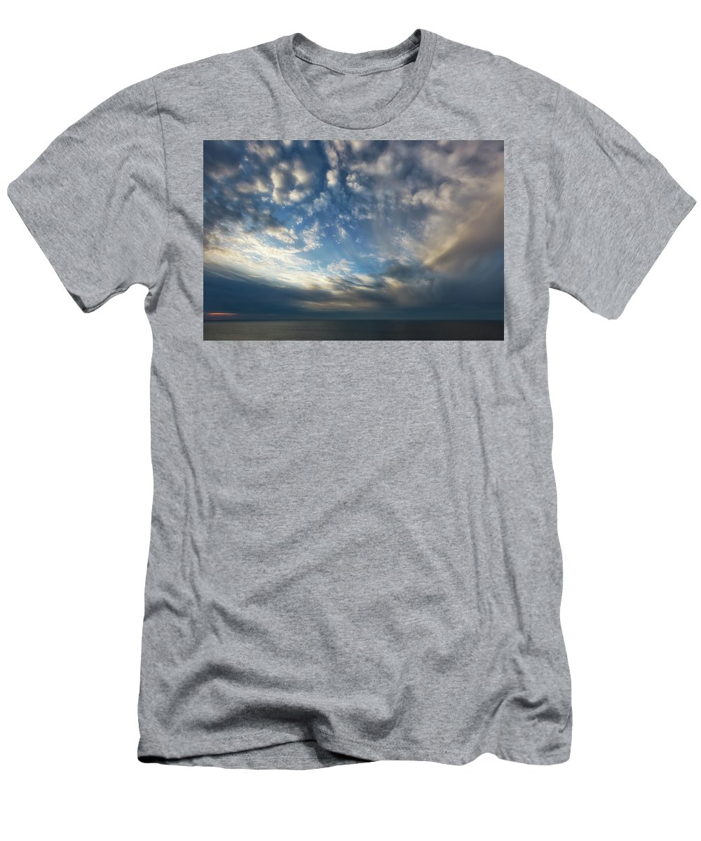 Empire Men's T-Shirt (Athletic Fit) featuring the photograph Empire Bluffs 1 by Heather Kenward