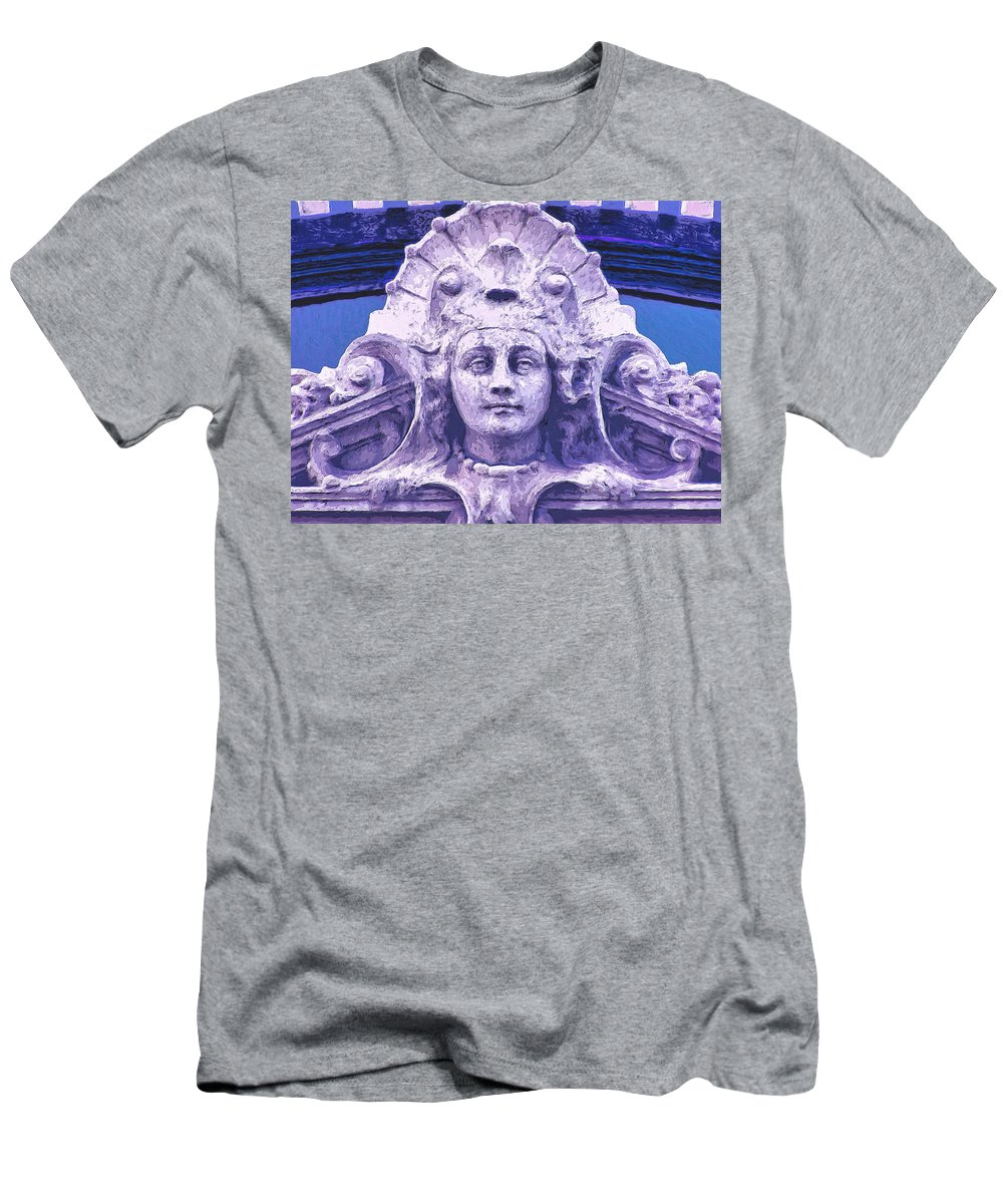 Old Building Men's T-Shirt (Athletic Fit) featuring the painting Empress by Dominic Piperata