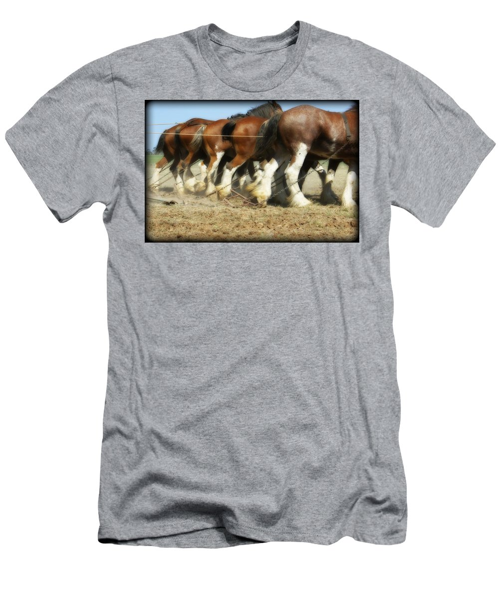 Kathryn Potempski Men's T-Shirt (Athletic Fit) featuring the photograph End Of The Day by Kathryn Potempski