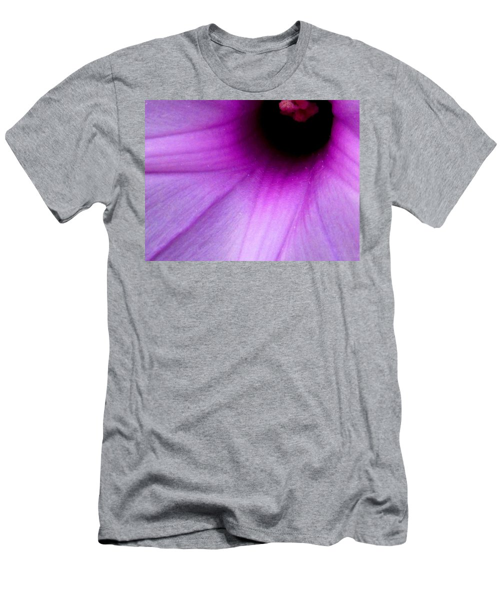 Flower Men's T-Shirt (Athletic Fit) featuring the photograph Enticing by Ian MacDonald