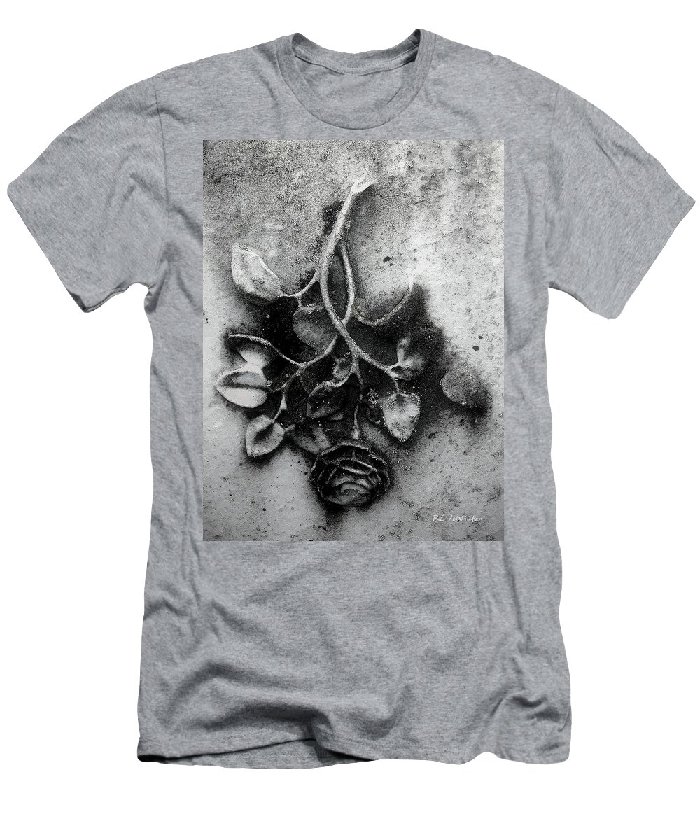Antique T-Shirt featuring the painting Everblooming by RC DeWinter