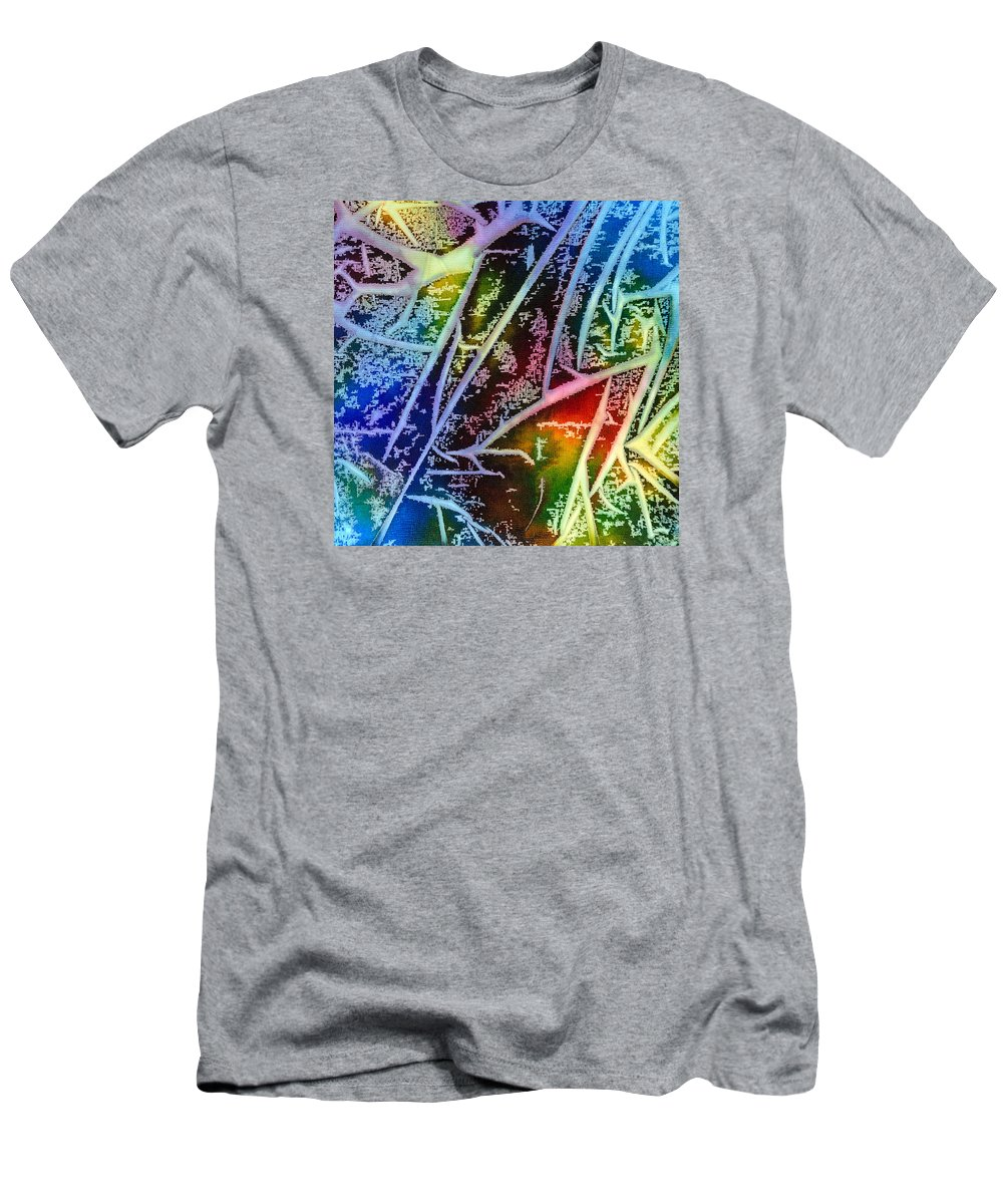 Abstract T-Shirt featuring the painting Expanding Awareness - A - by Sandy Sandy