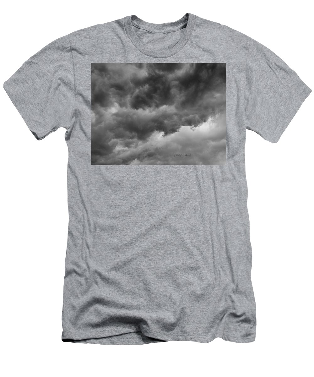 Clouds T-Shirt featuring the photograph Faces In The Mist Of Chaos by ChelleAnne Paradis