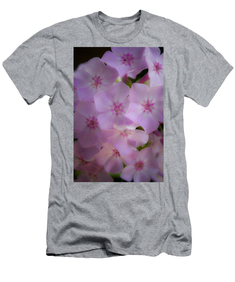 Phlox Men's T-Shirt (Athletic Fit) featuring the photograph Fairy Tale Phlox by Teresa Mucha