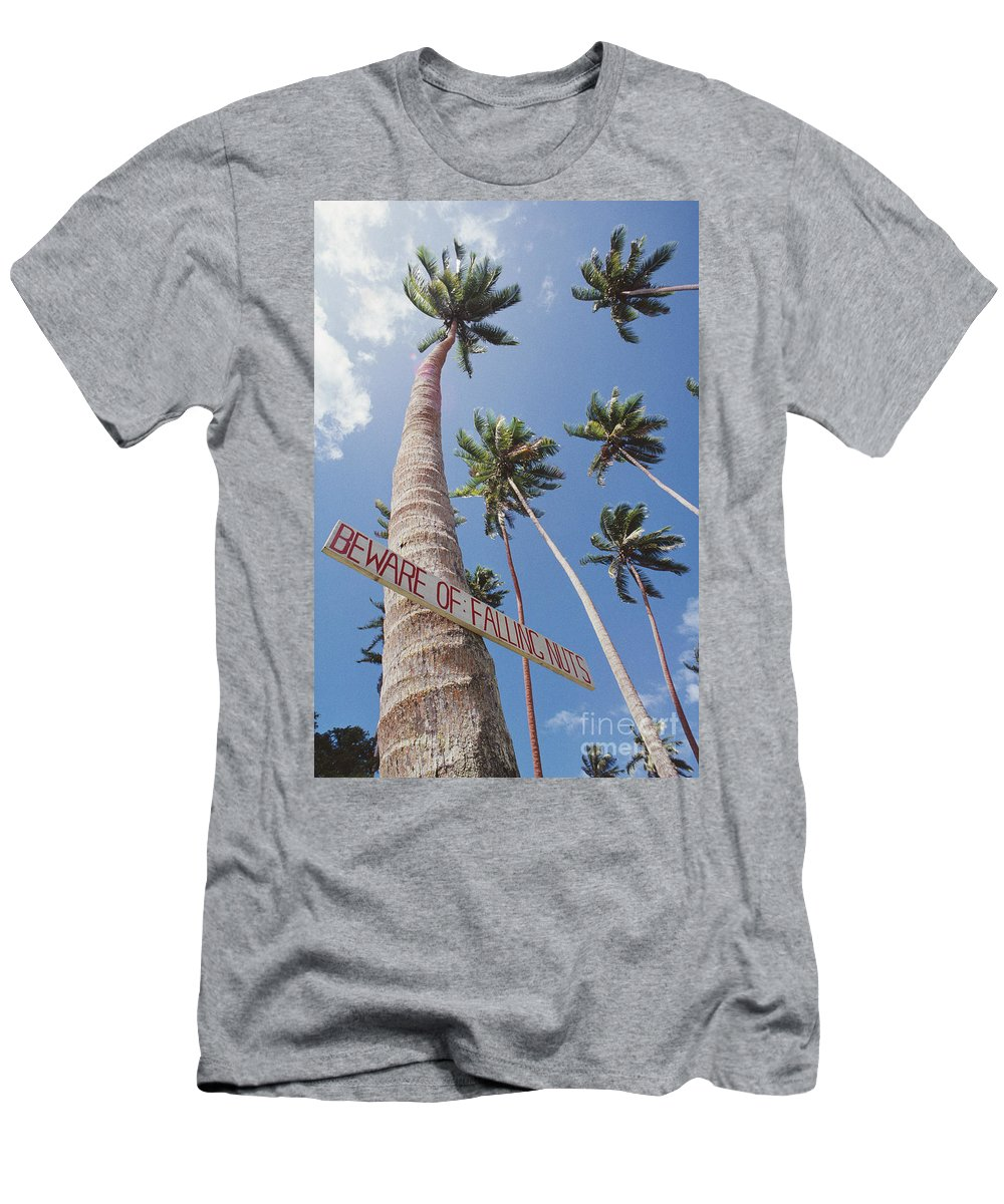 Afternoon Men's T-Shirt (Athletic Fit) featuring the photograph Fiji, Vanua Levu by William Waterfall - Printscapes