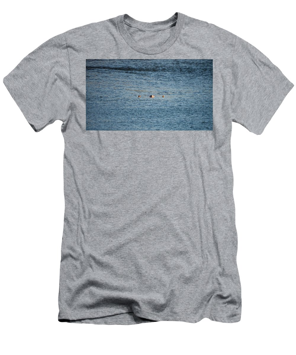 Men's T-Shirt (Athletic Fit) featuring the photograph Floater by John Pierpont